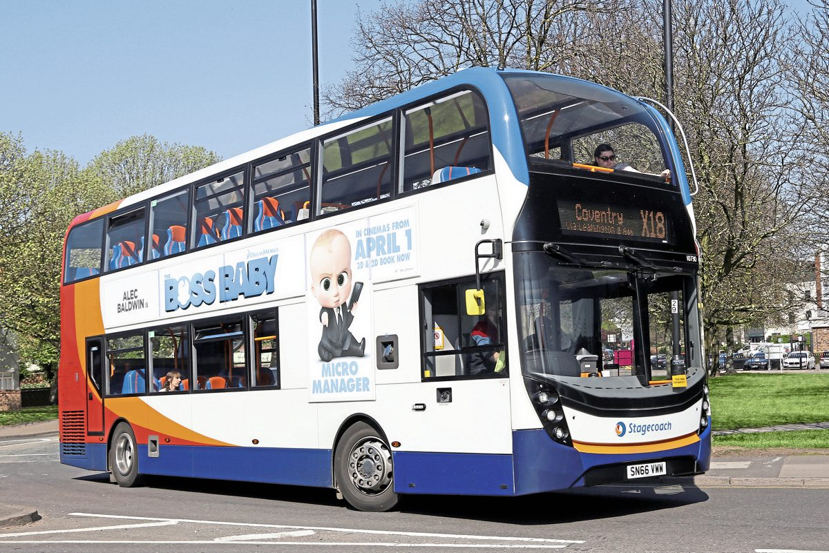 Stagecoach S 163 70m Orders Bus Amp Coach Buyer