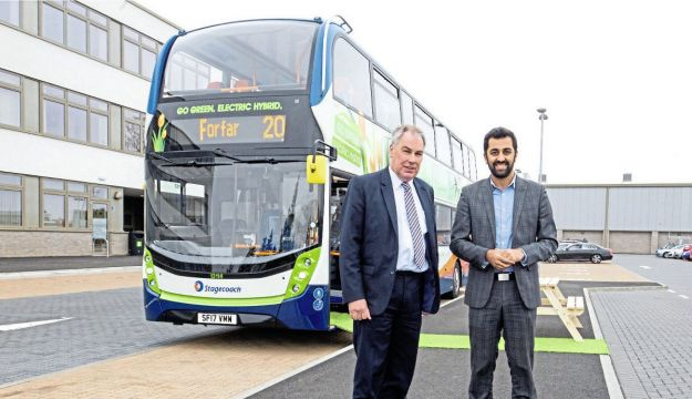 ADL hybrids for Stagecoach East Scotland
