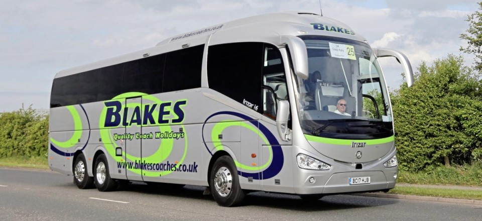 Entry 25 Blakes Coaches