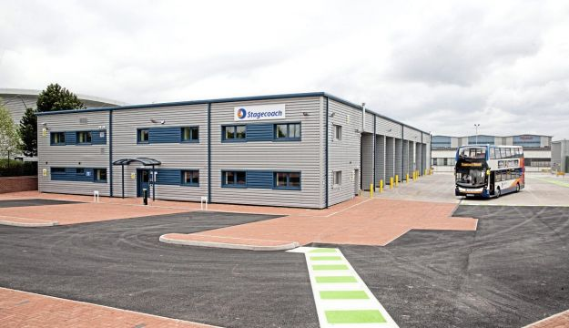 New £5m Stagecoach Midlands depot
