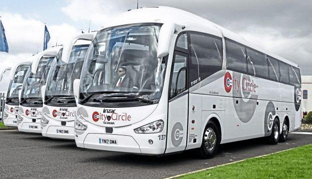 16 Scania Irizars join City Circle