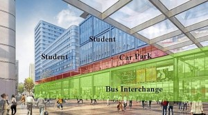 Cardiff's new bus station put on hold