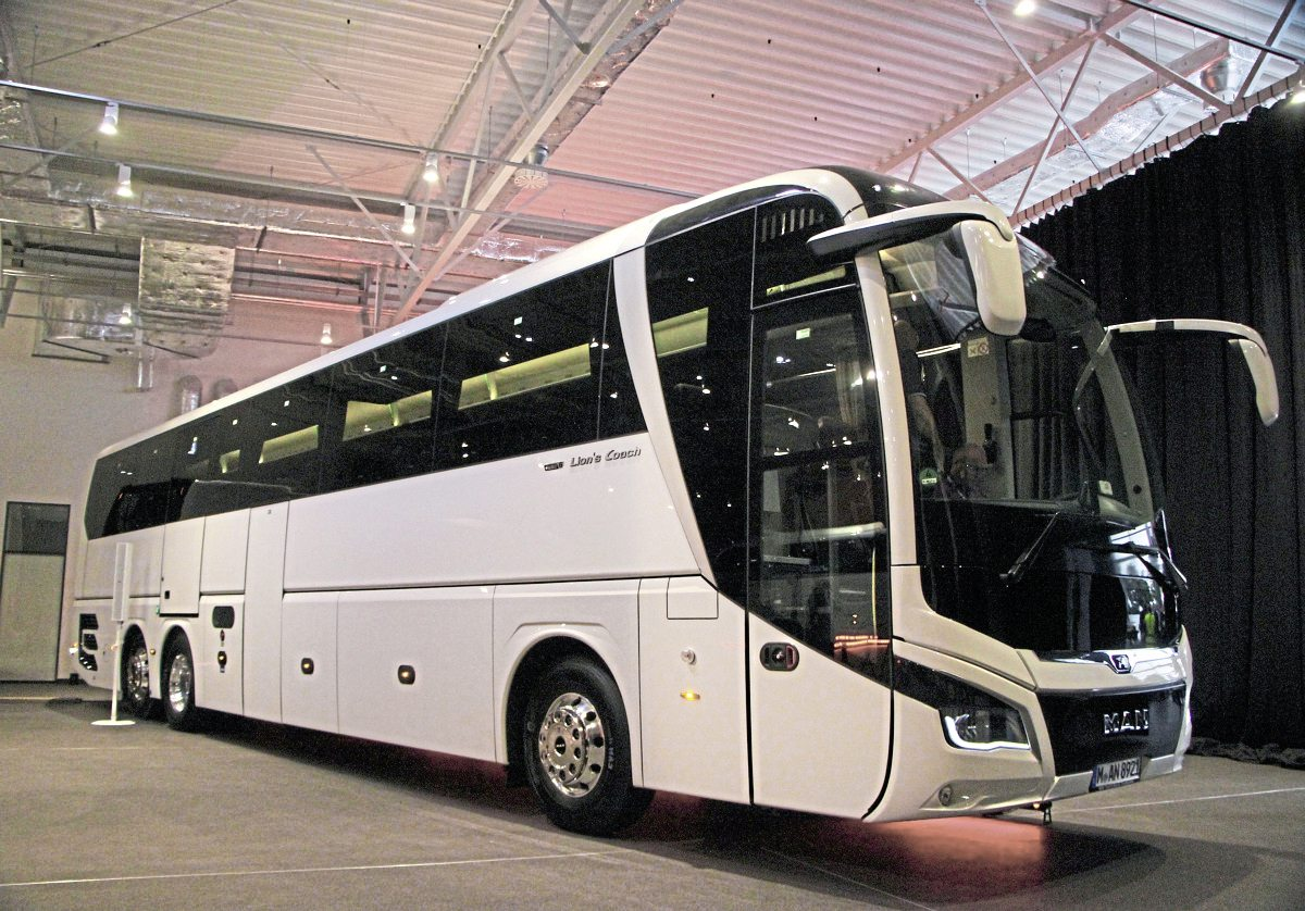 man developments unveiled at pre busworld event bus coach buyer. Black Bedroom Furniture Sets. Home Design Ideas