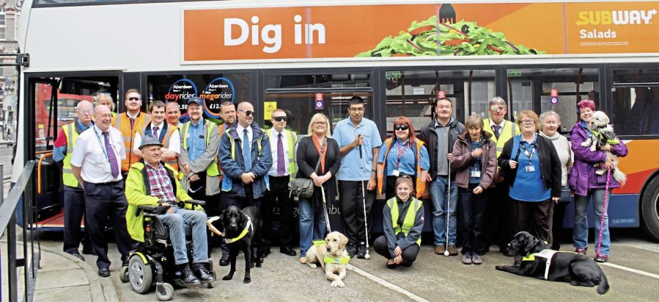 Better buses for the blind
