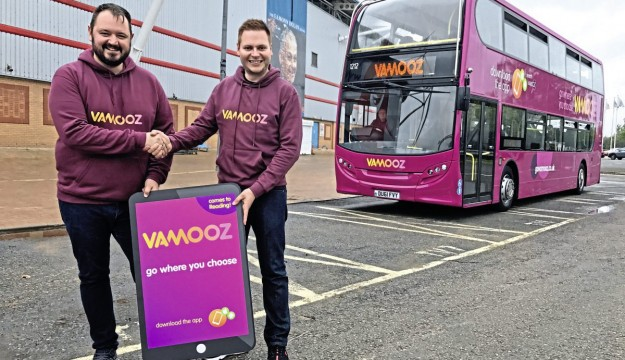 Transdev's VAMOOZ now rolled out at Reading