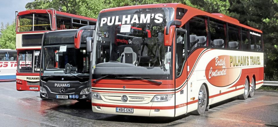 Pulhams Coaches took the Premier Operator Award with this immaculate display