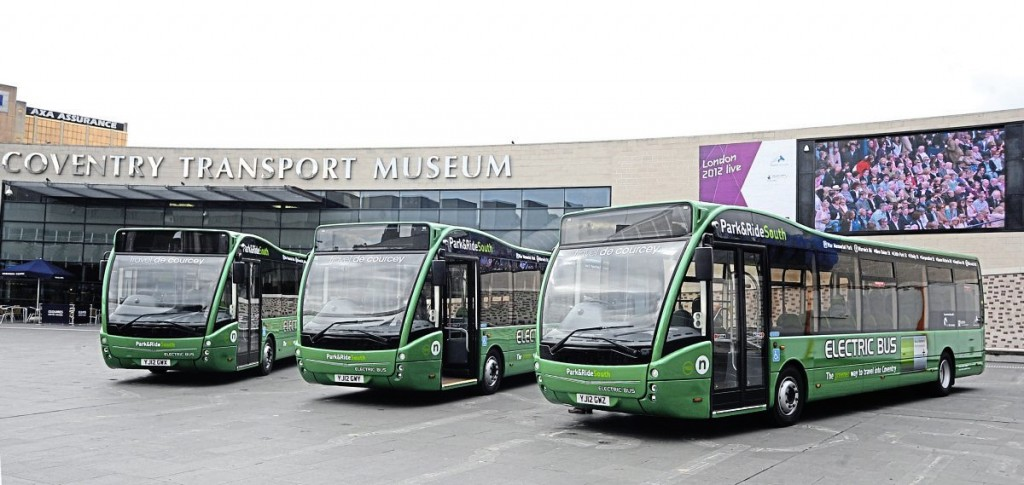 In 2012, Travel de Courcey invested in three electric Optare Versas