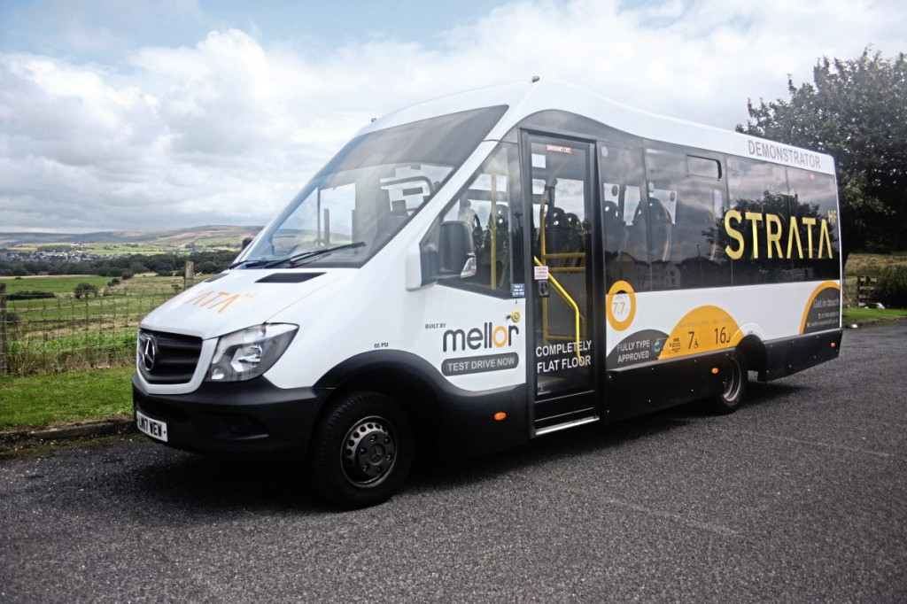 The new Mellor Strata HF is built on the Mercedes-Benz Sprinter 516 chassis
