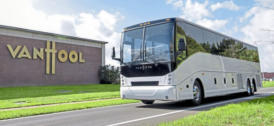 Van Hool to build first electric coach?