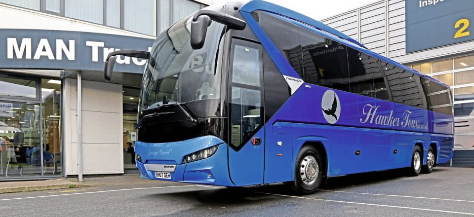 'Awesome' was Chris Hawkes first reaction to the new Tourliner