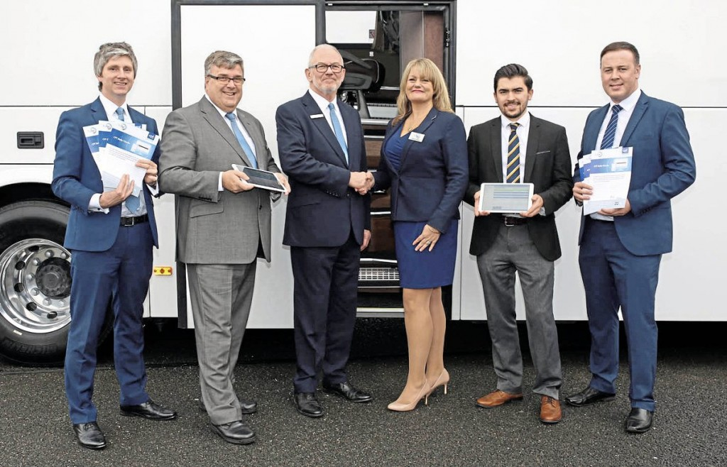 CPT Communications Director, Christopher Nice. CPT Technical Executive, John Taylor. CPT Deputy Chief Executive, Peter Gomersall. TruTac Commercial Director, Jemma James. TruTac Sales Manager, Jack Chapman and TruTac Head of Sales, Lee Oliver