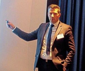 The Traffic Commissioners Office's Steve Fox ran through developments in digital applications