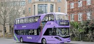 Reading's purple goes green with bio-gas coach-style 'deckers