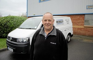 Bryan Read is officially the Workshop Manager but his responsibilities extend far beyond this. He is always ready to take this well-equipped van to help with a vehicle experiencing problems