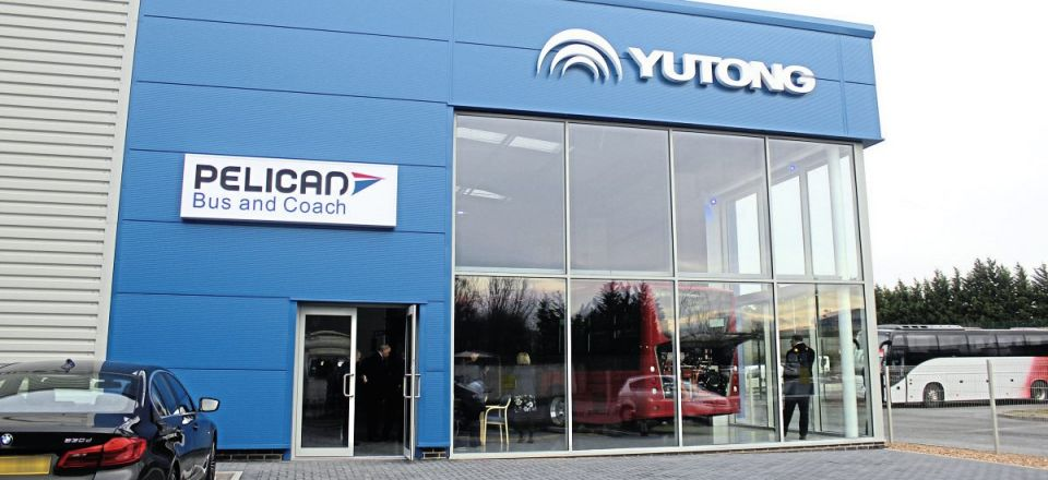 Pelican unveils new Yutong HQ