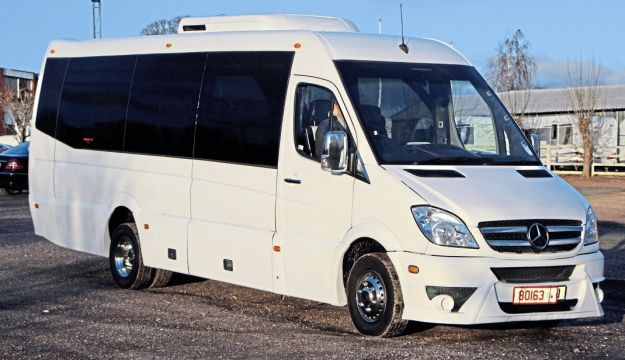 This Euro VI Mercedes-Benz Sprinter 519 with 19-seat coachwork by Swansea has just been sold