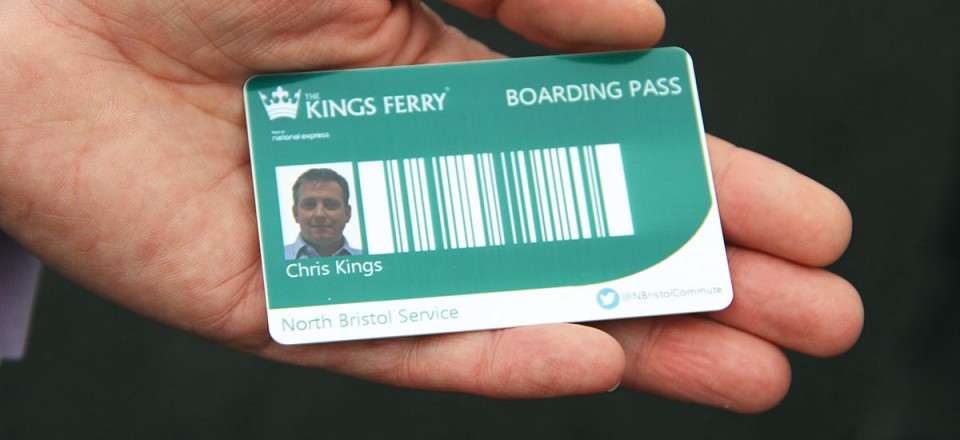 The Smart Boarding Pass which is part of the ticketing solution developed by Cobham Systems of West Sussex.