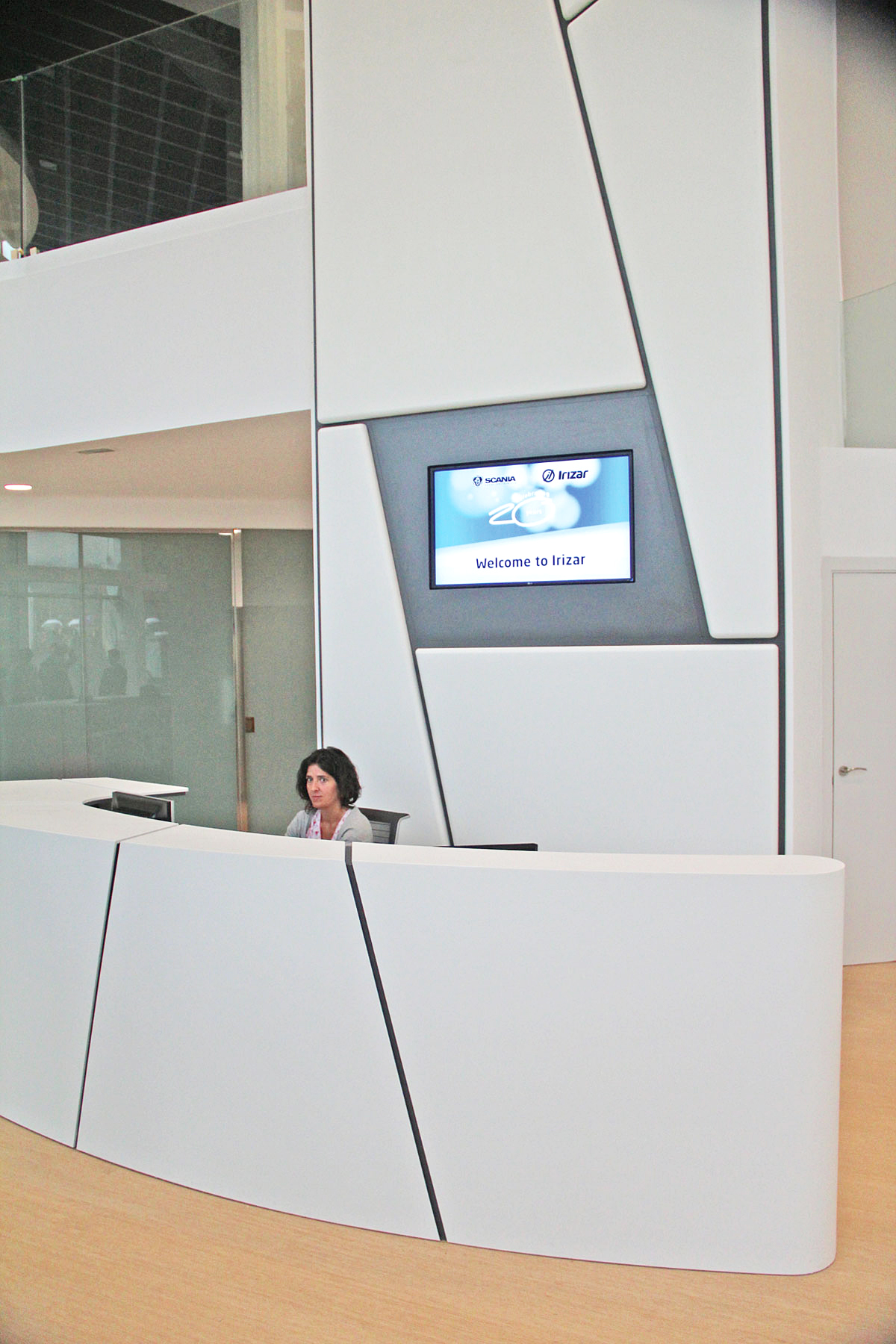 The new reception area at the Ormaiztegi plant.