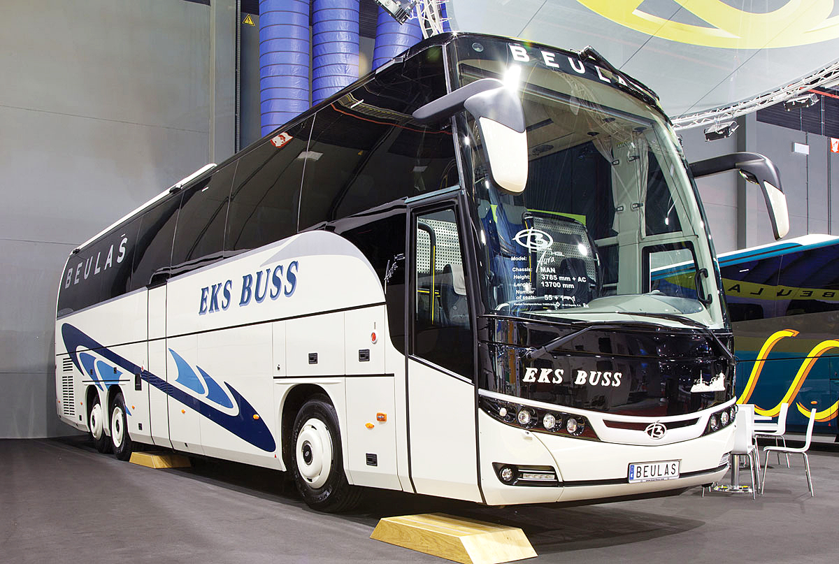 Beulas Aura HGL on MAN RR4 26.480 chassis.