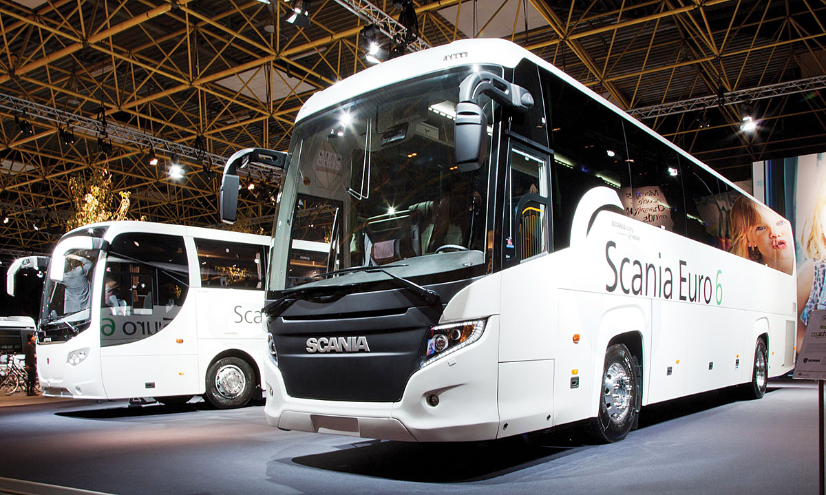 Scania Touring and OmniExpress.