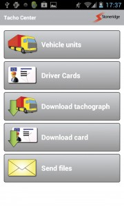 The Duo Mobile App, which allows drivers to get all the real time information from the Duo driver decision support system from the SE5000 Exact on their smartphone