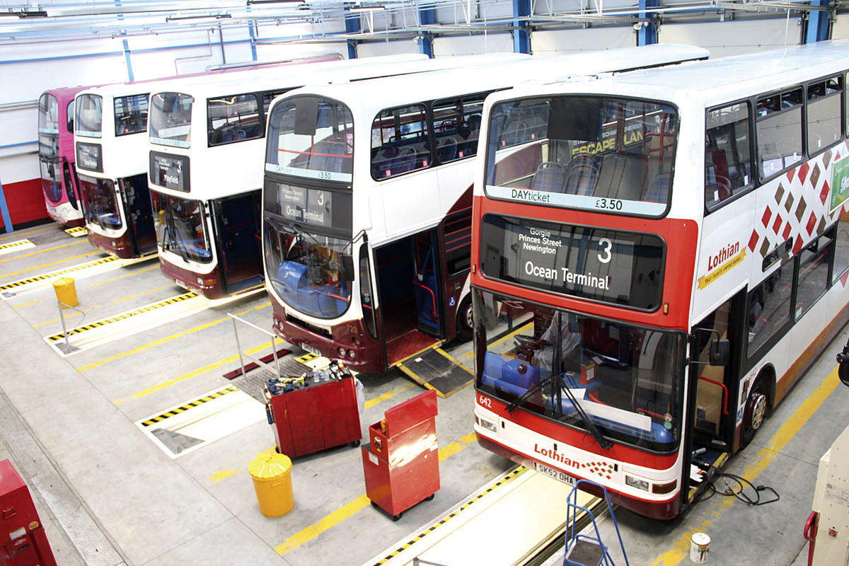 Lothian Invests In Maintenance Page 3 Of 4 Bus Amp Coach