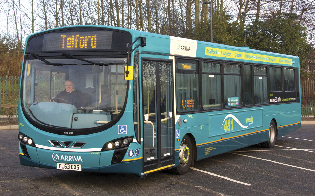 Arriva Invests In Telford Bus Amp Coach Buyer