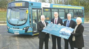 Arriva invests in Telford