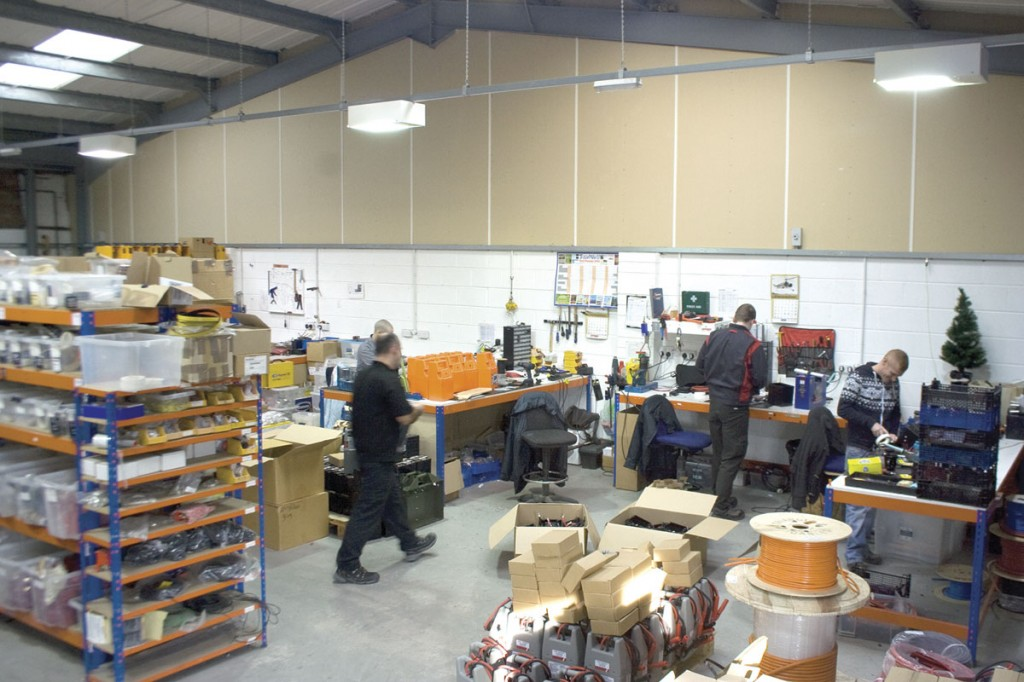 Assembly of Powervamp's products takes place in the UK