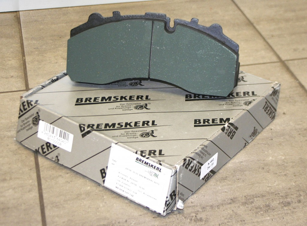 Bremskerl brake pads are proving a popular product for MasterPart