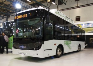 Isuzu recently introduced a CNG option on its low entry midibus
