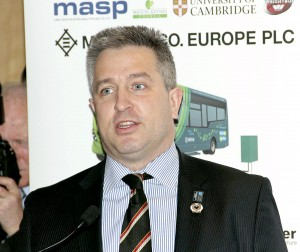 Leader of Milton Keynes Council, Andrew Geary