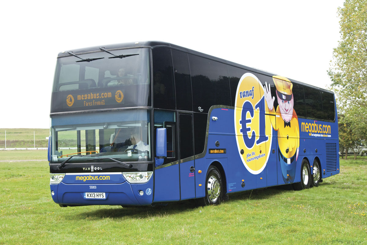 Megabus to double london barcelona service bus coach buyer - Bus toulouse barcelona ...