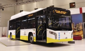 One of 40 Karsan articulated buses for the city of Konya