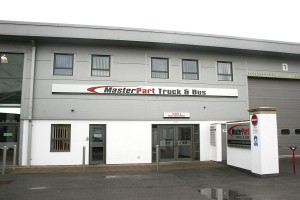 MasterPart's base on the Dukeries Industrial Estate, Worksop