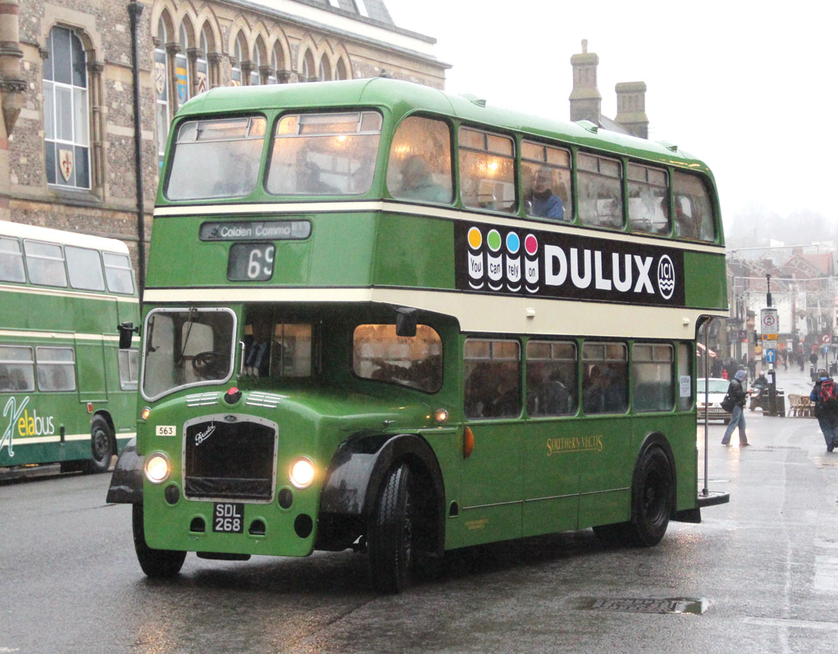 A Southern Vectis Bristol LD6G ECW dating from 1959