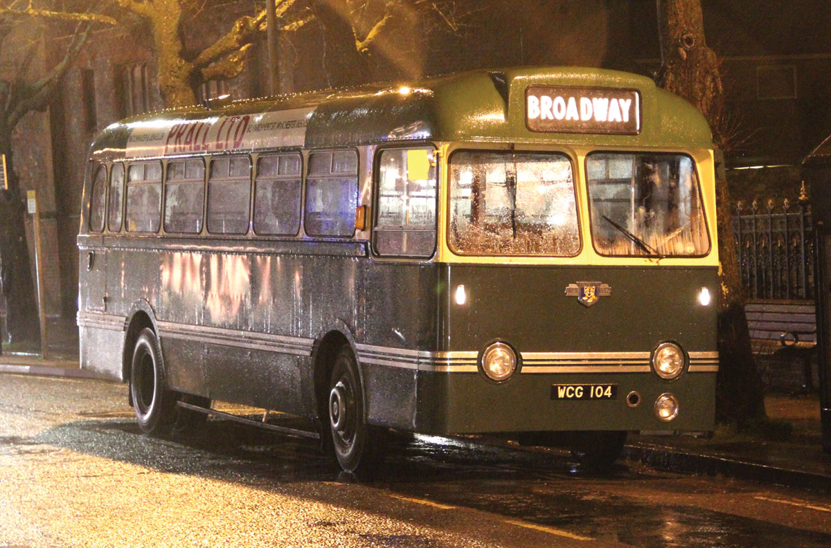 Late in the day, the 1959 Tiger Cub Weymann that appeared at the very first Running Day waits on the Broadway