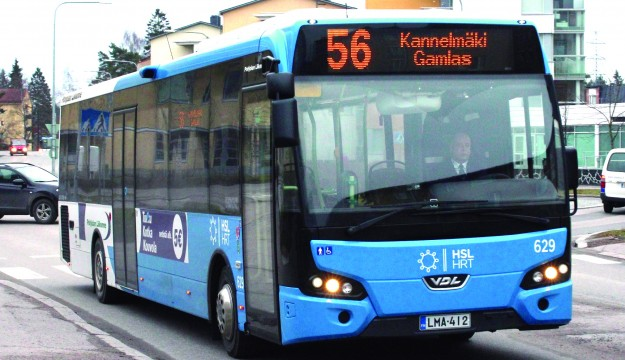finnish bus