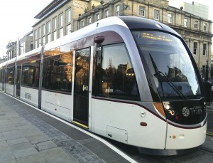 The troubled Edinburgh Tram should finally start operating this year. Three years late, £300m overspent and that's for only half the original system