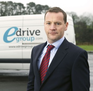 Mervyn O'Callaghan, MD at eDrive Group, which provides nationwide telematics installation services for coach and bus fleets