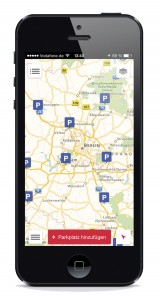The Truck Parking Europe app from PTV Group