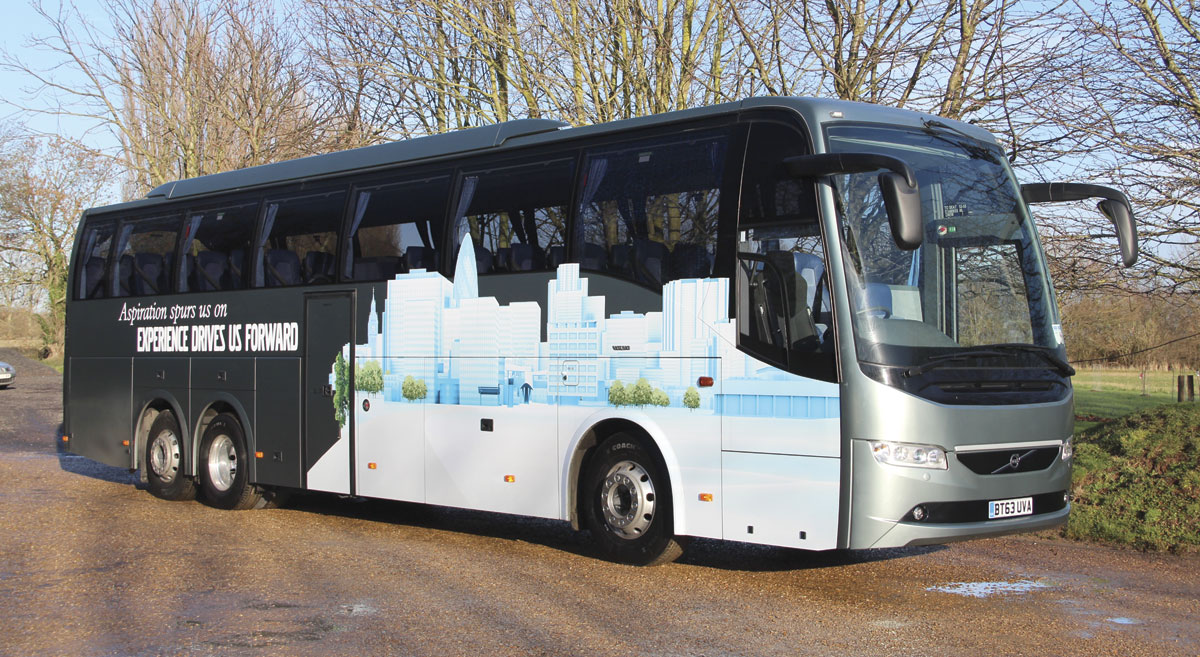 Volvo 9700 B11r Euro6 Making A Virtue Out Of Euro6 Bus