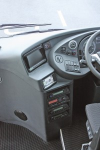 It would be better if the touchscreen was located where the reversing camera screen is, and if the image from that camera was put onto the touchscreen. Thus eliminating one of the screens and putting the touchscreen in a more driver friendly position
