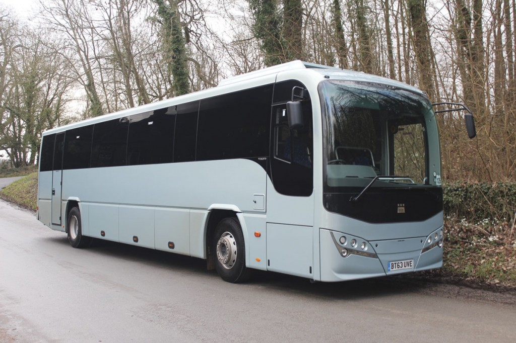 The Leopard is Plaxton's entry level coach and fills the gap left open for several years by the demise of the Profile with the event of Whole Vehicle Type Approval. The Volvo B8R replaces both the B9R and the B7R, though the Leopard is also available on the Euro5 B9R