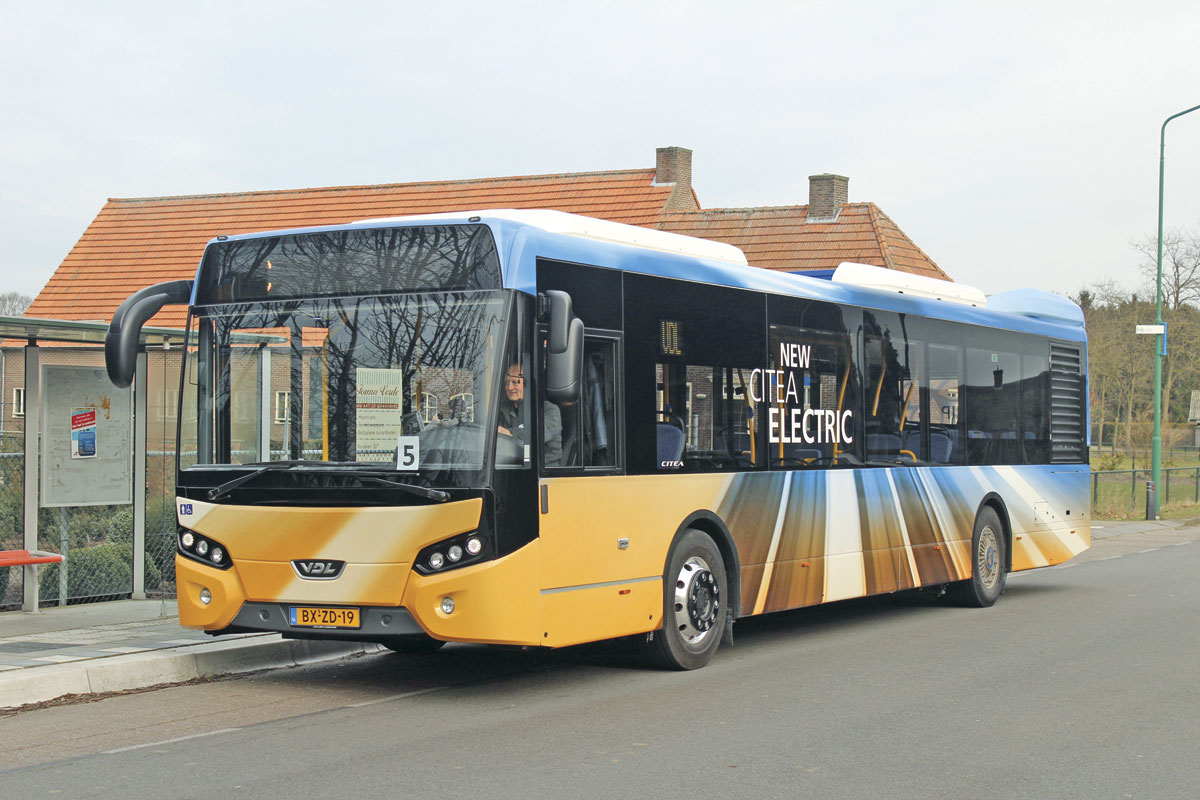 Fabulously smooth and quiet in operation, the VDL Citea SLF-120 Electric