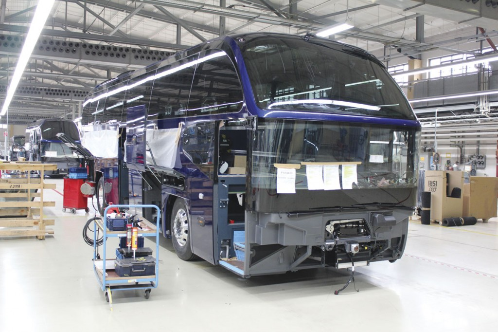 Around 65% of Plauen production is accounted for by the Cityliner model