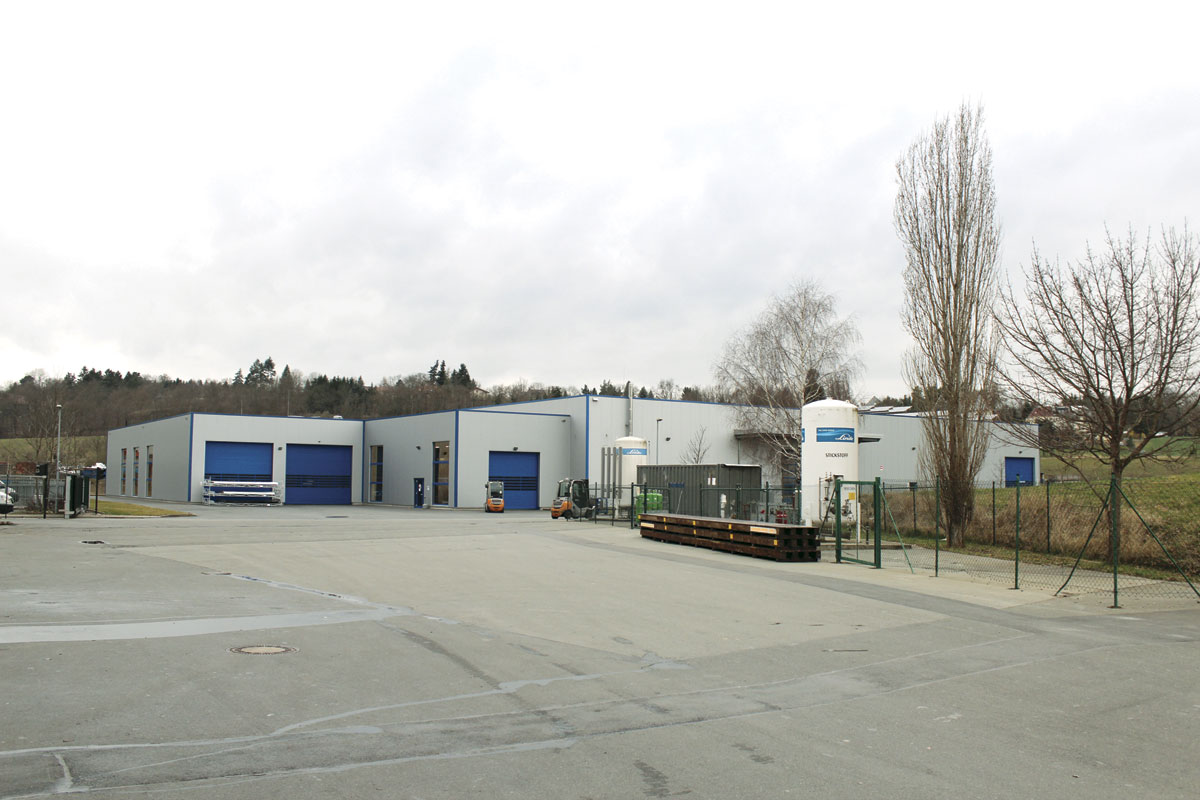 This new distribution facility was opened in 2011