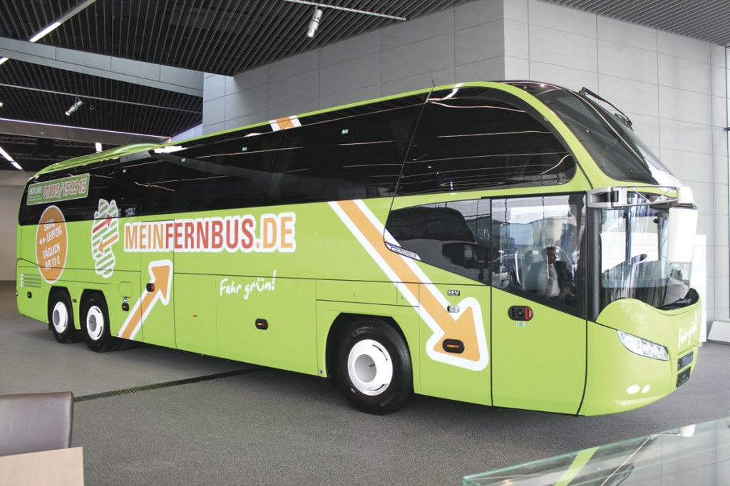 The deregulation of German express services of over 50km has seen a big growth in the number of vehicles bought for this work. Berlin based Meinfernbus.de is among the biggest of the new providers and this batch of Cityliners for one of its contractors includes the 200th coach it has purchased for its services