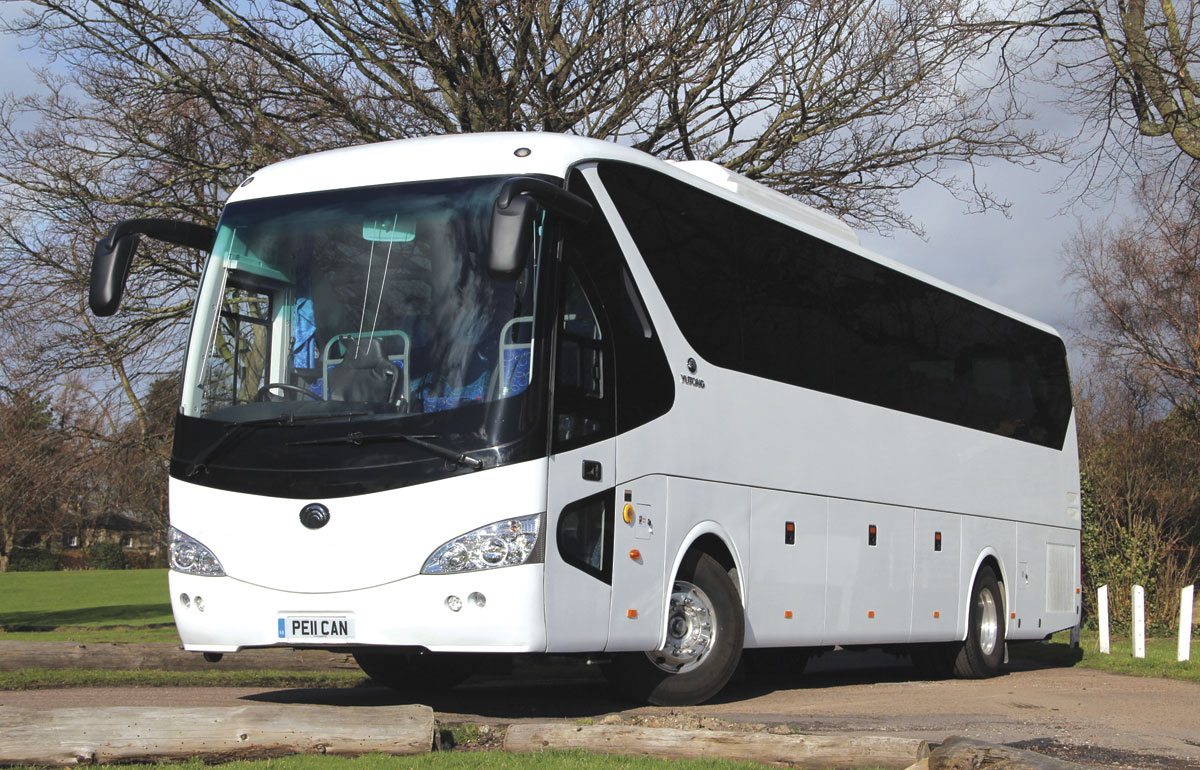 Only 12m long, the TC12 weighs13,800kg