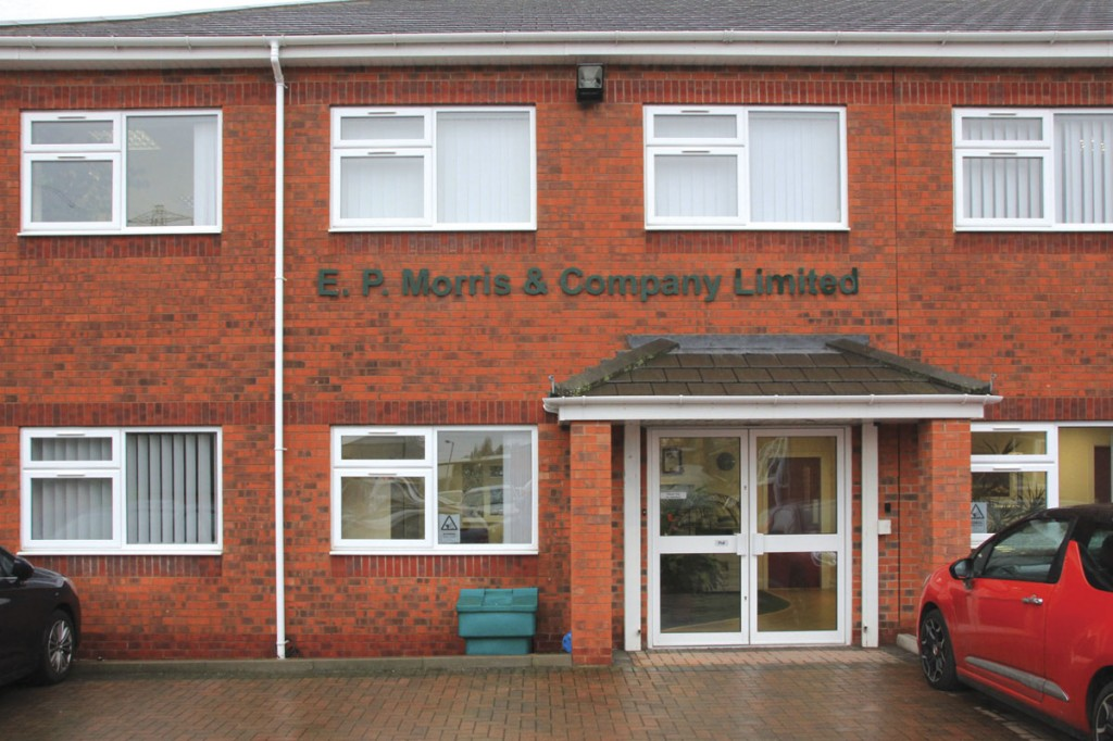EP Morris and Company's modern offices in traditional style